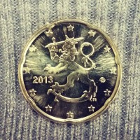 20 Евроцентов 2013 год. Финляндия.