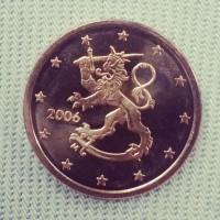 5 евроцентов 2006 год. Финляндия
