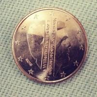 5 Евроцентов 2015 год. Нидерланды