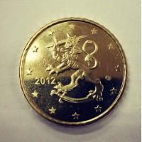 50 Евроцентов 2012 год. Финляндия