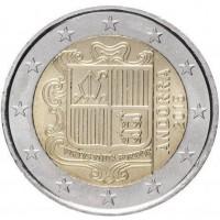 2 Евро 2015 год. Андорра