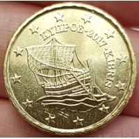 10 Евроцентов 2017 год. Кипр