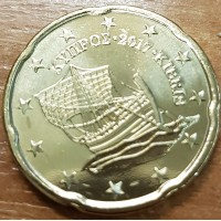 20 Евроцентов 2017 год. Кипр