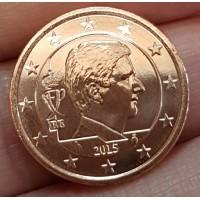 2 евроцента 2015 год. Бельгия