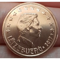 2 евроцента 2017 год. Люксембург