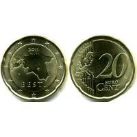 20 Евроцентов 2011 год. Эстония