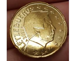 20 Евроцентов 2017 год. Люксембург