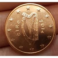 5 Евроцентов 2014 год. Ирландия