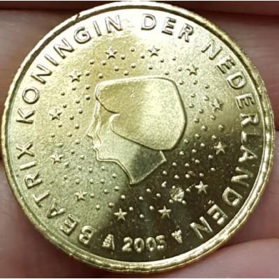 50 Евроцентов 2005 год. Нидерланды