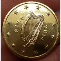 50 Евроцентов 2014 год. Ирландия