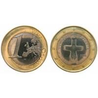 1 Евро 2008 год. Кипр