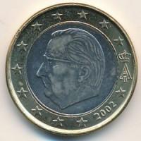 1 Евро 2002 год. Бельгия