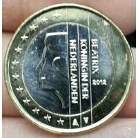 1 евро 2012 год. Нидерланды