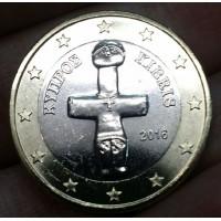 1 Евро 2016 год. Кипр