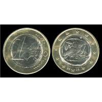 1 Евро 2003 год. Греция
