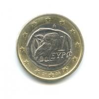 1 Евро 2004 год. Греция