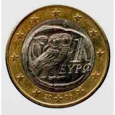 1 Евро 2006 год. Греция