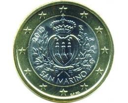 1 евро 2015 год. Сан-Марино