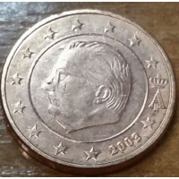 1 евроцент 2003 год. Бельгия