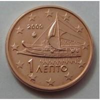 1 евроцент 2009 год. Греция