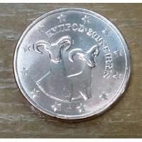 1 Евроцент 2016 год. Кипр