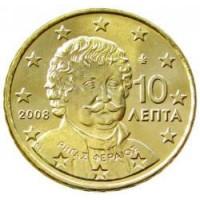 10 Евроцентов 2008 год. Греция