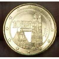 10 евроцентов 2017 год. Австрия