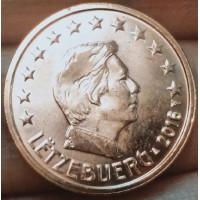 2 евроцента 2016 год. Люксембург