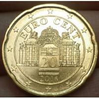 20 Евроцентов 2016 год. Австрия