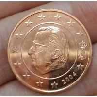 5 евроцентов 2004 год. Бельгия