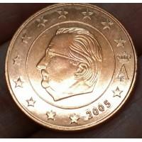 5 евроцентов 2005 год. Бельгия