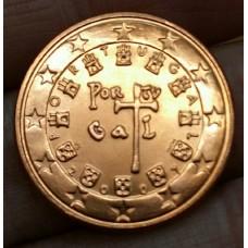 5 евроцентов 2007 год. Португалия