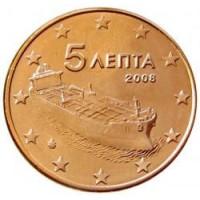 5 евроцентов 2008 год. Греция