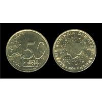 50 Евроцентов 2008 год. Нидерланды