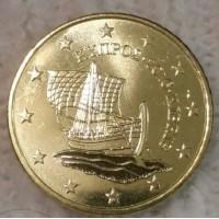 50 Евроцентов 2016 год. Кипр
