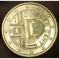 50 Евроцентов 2017 год. Австрия