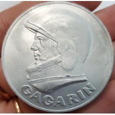 Настольная памятная медаль. СССР. Гагарин (Первый человек в космосе).