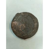 5 Копеек 1780 год. Россия. ЕМ. Екатерина II. (3)
