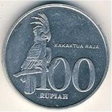 100 рупий 1999 года. Индонезия