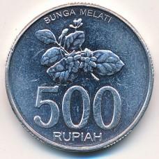 500 рупий 2003 год. Индонезия