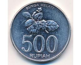 Индонезия 500 рупий 2003 год.