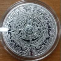 Монетовидный жетон Календарь Майя. КОПИЯ (разновидность 2)