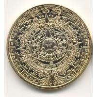 Монетовидный жетон Календарь Майя. КОПИЯ*