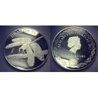 Токелау 5 долларов 2012 г. Стрекоза (Копия)