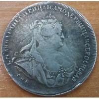 1 рубль 1739 год. СПБ. Анна Иоанновна. КОПИЯ