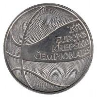 1 лит 2011 год. Литва. Чемпионат Европы по баскетболу в 2011 году.