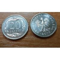 20 грошей 2016 год. Польша
