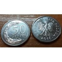50 грошей 2016 год. Польша