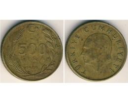 500 лир 1989 год. Турция.