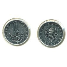 1 крона 2003 год. Чехия